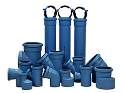 канализационные чугунные трубы